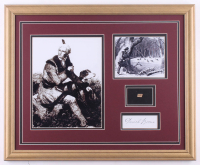 Daniel Boone 18x22 Custom Framed Cut Display with (1) Hand-Written Word from Letter (JSA LOA Copy) at PristineAuction.com
