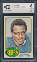 Walter Payton 1976 Topps #148 RC (BCCG 8) at PristineAuction.com