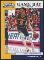 Ja Morant 2019-20 Panini Contenders Draft Picks Game Day Tickets #2 at PristineAuction.com