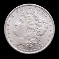 1885-O Morgan Silver Dollar at PristineAuction.com
