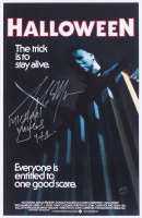 "Tony Moran Signed ""Halloween"" 11x17 Photo Inscribed ""Michael Myers H1"" (Legends COA) at PristineAuction.com"