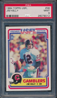 Jim Kelly 1984 Topps USFL #36 RC (PSA 9) at PristineAuction.com