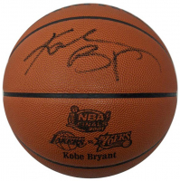 Kobe Bryant Signed 2001 NBA Finals Basketball (Beckett LOA) at PristineAuction.com