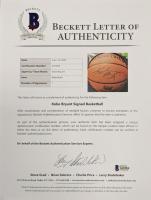 Kobe Bryant Signed 2001 NBA Finals Basketball (Beckett LOA) at PristineAuction.com