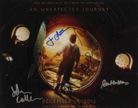 """The Hobbit: An Unexpected Journey"" 11x14 Photo Cast-Signed by (11) with Martin Freeman, Aidan Turner, Andy Serkis, Jed Brophy, John Callen with Inscriptions (AutographCOA Hologram) at PristineAuction.com"
