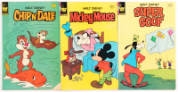 Lot of (3) Walt Disney Comic Books with 1969 Mickey Mouse #214, 1980 Super Goof #66, & 1980 Chip 'N' Dale #74 at PristineAuction.com