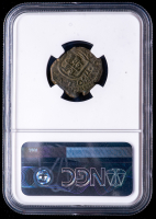 Carlos II 1685 Spain 2 Maravedis - Spanish Colonial Cob Coin (NGC Fine Details) at PristineAuction.com