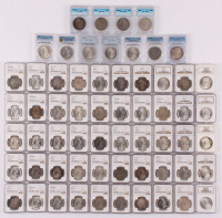 Large Lot of (61) 1879-1904 Morgan Silver Dollars (NGC, PCGS & ICG) at PristineAuction.com