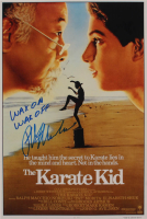 "Ralph Macchio Signed ""The Karate Kid"" 12x18 Photo Inscribed ""Wax On Wax Off"" (AutographCOA Hologram) at PristineAuction.com"