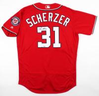 Max Scherzer Signed Nationals Jersey (MLB Hologram) at PristineAuction.com