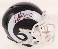 Todd Gurley Signed Rams Speed Mini-Helmet (Beckett COA & Palm Beach COA) at PristineAuction.com