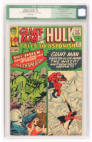 "1964 ""Hulk"" Issue #62 Marvel Tales To Astonish Comic Book (CGC 5.0) at PristineAuction.com"