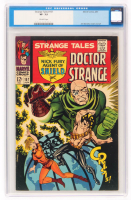 "1967 ""Doctor Strange"" Issue #157 Strange Tales Comic Book (CGC 7.5) at PristineAuction.com"