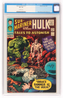 "1966 ""Hulk"" Issue #77 Tales To Astonish Comic Book (CGC 7.5) at PristineAuction.com"