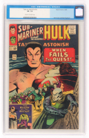 "1965 ""Hulk"" Issue #74 Tales To Astonish Comic Book (CGC 7.5) at PristineAuction.com"