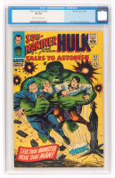 """1966 """"Hulk"""" Issue #83 Tales To Astonish Comic Book (CGC 8.0) at PristineAuction.com"""