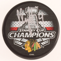 Niklas Hjalmarsson Signed Blackhawks Logo Hockey Puck (JSA Hologram) at PristineAuction.com