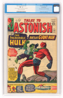 """1964 """"Hulk"""" Issue #59 Tales To Astonish Comic Book (CGC .5) at PristineAuction.com"""