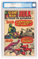 "1964 ""Hulk"" Issue #61 Tales To Astonish Comic Book (CGC 3.0) at PristineAuction.com"