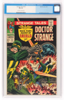 "1967 ""Doctor Strange"" Issue #155 Strange Tales Comic Book (CGC 6.0) at PristineAuction.com"