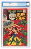 "1967 ""Doctor Strange"" Issue #153 Strange Tales Comic Book (CGC 8.0) at PristineAuction.com"