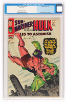 "1967 ""Hulk"" Issue #87 Tales To Astonish Comic Book (CGC 7.5) at PristineAuction.com"