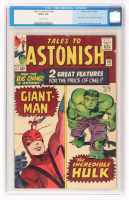 "1964 ""Hulk / Giant-Man"" Issue #60 Tales To Astonish Comic Book (CGC 3.0) at PristineAuction.com"