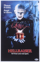 "Clive Barker Signed ""Hellraiser"" 11x17 Photo (Beckett COA) at PristineAuction.com"