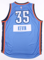"Kevin Durant Signed LE Thunder Jersey Inscribed ""Christmas 2014"" (Panini COA) at PristineAuction.com"