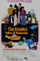 """Ron Campbell Signed """"The Beatles"""" 12x18 Photo with Hand-Drawn Sketch Inscribed """"Animator"""" & """"Yellow Submarine"""" (AutographCOA Hologram) at PristineAuction.com"""