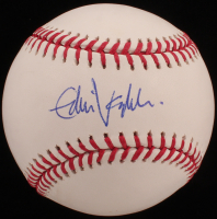 Eddie Vedder Signed OML Baseball (Beckett LOA) at PristineAuction.com