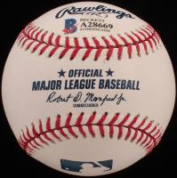 Eddie Vedder Signed OML Baseball (Beckett LOA) at PristineAuction.com