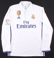 Cristiano Ronaldo Real Madrid Game-Used Jersey with 2016 FIFA World Championship Patch (Memorabilia Expert LOA) at PristineAuction.com