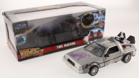 "Michael J. Fox Signed ""Back to the Future Part II"" DeLorean 1:24 Diecast Car (Beckett COA) at PristineAuction.com"