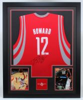Dwight Howard Signed Rockets 35x43 Custom Framed Jersey (TriStar Hologram) at PristineAuction.com