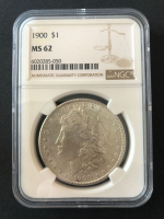 1900 Morgan Silver Dollar (NGC MS62) at PristineAuction.com