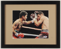 "Manny ""Pacman"" Pacquiao Signed 13x15.5 Custom Framed Photo Display (PSA COA) at PristineAuction.com"