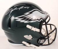 Jalen Reagor Signed Eagles Full-Size Speed Helmet (Beckett COA) at PristineAuction.com