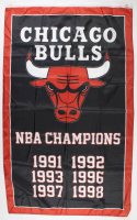 Chicago Bulls 35x60 NBA Champions Flag at PristineAuction.com