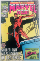 """Stan Lee Signed 1986 """"Marvel Age"""" Issue #36 Marvel Comic Book (Lee COA) at PristineAuction.com"""