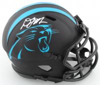 D. J. Moore Signed Panthers Eclipse Alternate Speed Mini Helmet (JSA COA) at PristineAuction.com