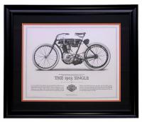 1903 Harley Davidson 16x20 Custom Framed Print at PristineAuction.com