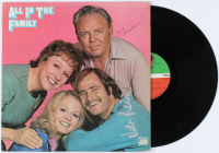 """Carroll O'Connor, Rob Reiner, & Sally Struthers Signed """"All In The Family"""" Soundtrack Vinyl Record Album Inscribed """"Big Love"""" (AutographCOA Hologram) at PristineAuction.com"""