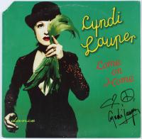 """Cyndi Lauper Signed """"Come On Home"""" Vinyl Record Album (AutographCOA COA) at PristineAuction.com"""