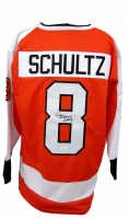 """Dave Schultz Signed Jersey Inscribed """"The Hammer"""" (JSA COA) at PristineAuction.com"""