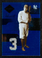 Babe Ruth 2005 Leaf Limited Threads Jersey Number #168 LGD at PristineAuction.com