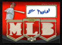 Stan Musial 2010 Topps Triple Threads Autograph MLB Die Cut Relics #SM at PristineAuction.com