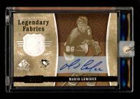 Mario Lemieux 2006-07 SP Game Used Legendary Fabrics #LFML at PristineAuction.com