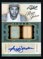 Reggie Jackson 2012 Prime Cuts Icons Materials Combos Signatures #20 at PristineAuction.com