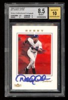 Derek Jeter Signed 2003 Fleer Avant #21 Baseball Card (BGS 8.5) at PristineAuction.com